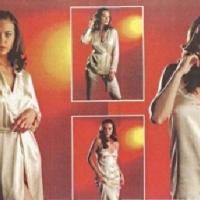 Женский пеньюар и ночные сорочки, пижама Анна