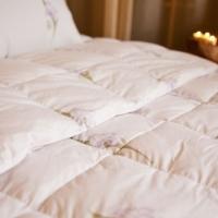 Одеяло  пуховое Ирис кассетное эксклюзивное