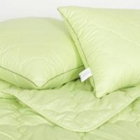 Подушки и одеяло Крапива