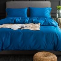 Синее постельное белье С-029