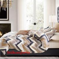 Молодежное постельное белье сатин Зигзаг