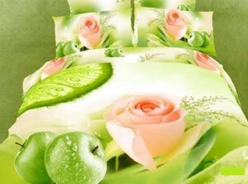 Постельное белье с розами 073