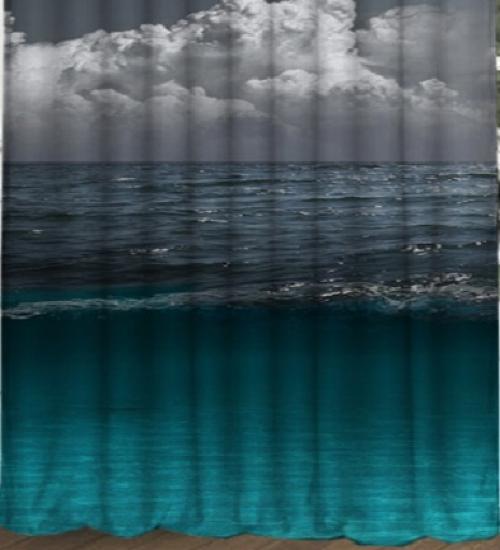 Комплект шторы и тюль в детскую Лунная дорожка