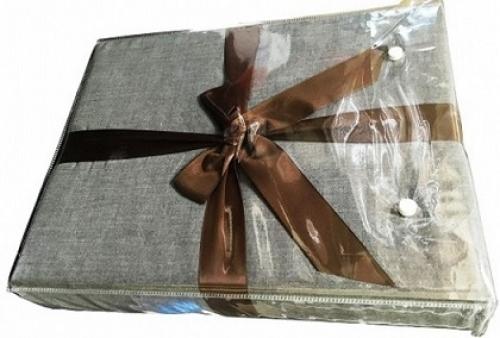 Постельное белье льняное Рапидо