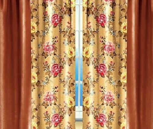 Готовые шторы в зал Янина
