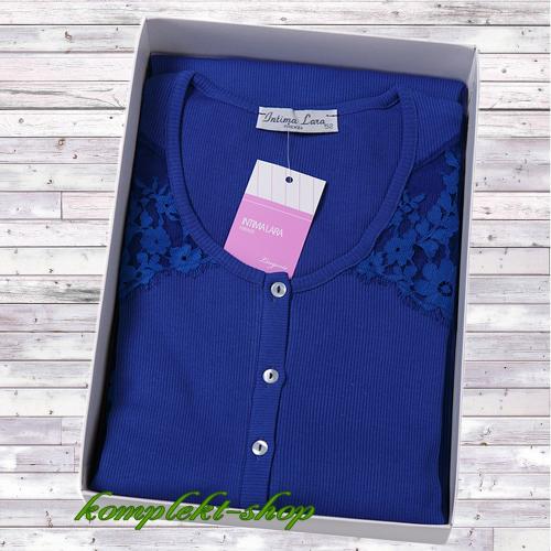 Женская ночная сорочка с коротким рукавом Ладам