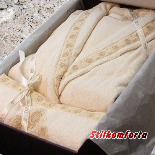 Элитный халат с полотенцами Досус
