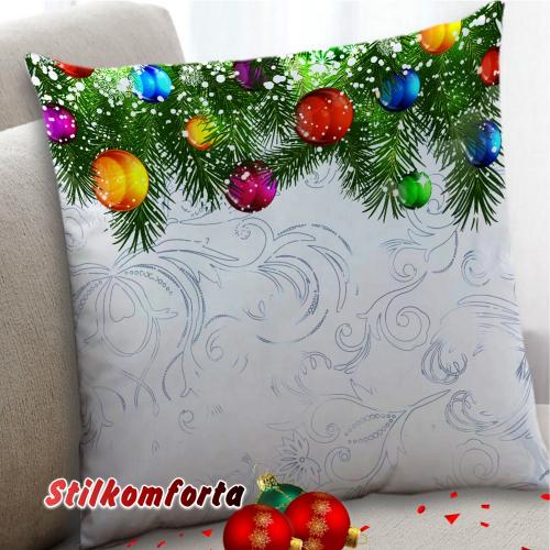 Новогодние шторы / тюль Мороз