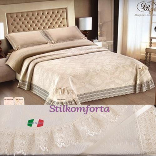 Свадебное постельное белье с покрывалом Ариа