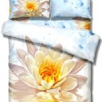 Постельное белье цветы 3D 110