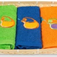 Набор кухонных полотенец в корзине 0512