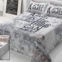 Красивое стеганое покрывало на кровать Стилле