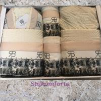 Комплект халатов с полотенцами Чечил