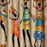 Фотошторы в детскую комнату Африка