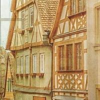Комплект шторы и тюль в комнату подростка Города мира Прага
