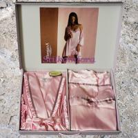Женский комплект пеньюар и сорочка Линда