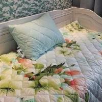 Набор покрывало и подушки Цветы