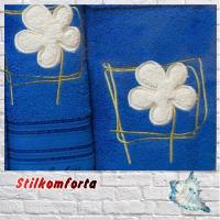 Подарочный набор халат и три полотенца Флаве 2