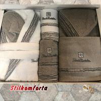 Два халата полотенца Анжа
