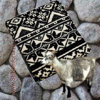 Одеяло жаккард овечья шерсть 04
