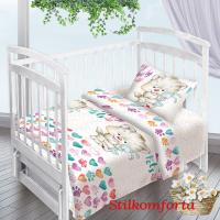 Детское постельное белье в кроватку Друзья
