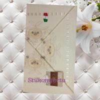 Свадебный набор постельного белья с покрывалом Балоно