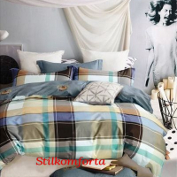 Молодежное постельное белье сатин Туниц