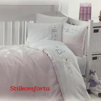 Элитное детское постельное белье в кроватку Малит