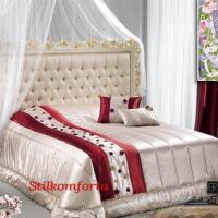 Нарядное покрывало на кровать атлас Декори